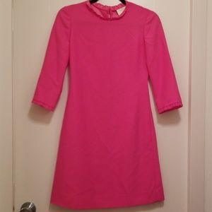 Kate Spade bright pink sheath dress